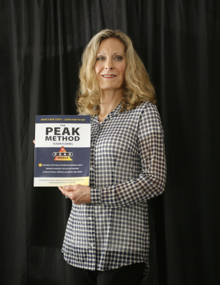 Susan Fleming with Peak Method Workbook